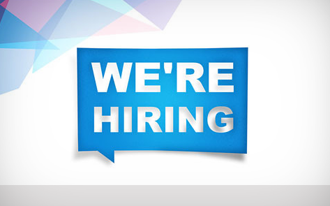 We are hiring! Click for more info.